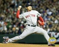 Daisuke Matsuzaka - '07 World Series Game 3 Fine Art Print