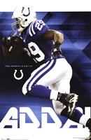 """Colts - J Addai by Ahava - 22"""" x 34"""" - $9.99"""