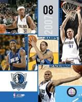 '07 / '08 Mavericks Team Composite Fine Art Print