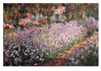 The Artist's Garden at Giverny, 1900 by Claude Monet, 1900 - various sizes