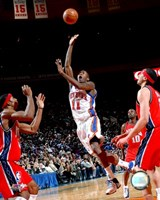 Jamal Crawford 2007-08 Action On The Court Fine Art Print