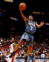 Sebastian Telfair 2007-08 Action Fine Art Print