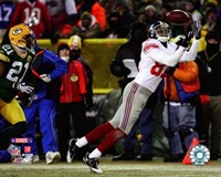 """Amani Toomer 2007 NFC championship game Action by Ahava - 10"""" x 8"""""""