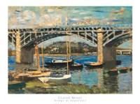 Bridge at Argenteuil (bridge center) Fine Art Print