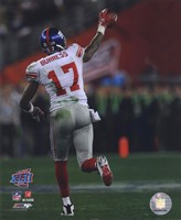 Plaxico Burress SuperBowl XLII 2007 Action #15 Fine Art Print