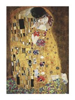 "The Kiss, 1908 by Gustav Klimt, 1908 - 24"" x 32"""