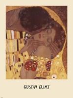 The Kiss (detail), 1908 by Gustav Klimt, 1908 - various sizes