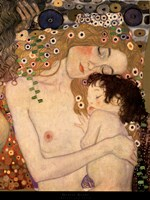 Three Ages of Woman - Mother and Child (detail), 1905 by Gustav Klimt, 1905 - various sizes