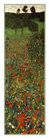 Field of Poppies, c.1907 (detail) - vertical Framed Print