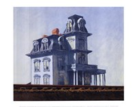 House by the Railroad, 1925 Fine Art Print