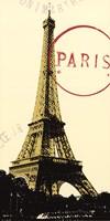Graphic Paris Neutral Fine Art Print
