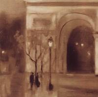 Seine Twilight Detail Fine Art Print