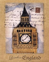 Souvenir of London Fine Art Print