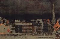Paris Skyline Fine Art Print