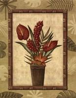Paradisio Bouquet I - Mini Fine Art Print