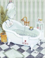 Claw Tub - mini Fine Art Print