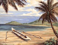 Outrigger Cove - mini Fine Art Print