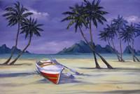 """Archipelago I by Paul Brent - 36"""" x 24"""", FulcrumGallery.com brand"""