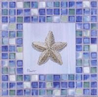 Mosaic Starfish Framed Print