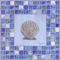 Mosaic Scallop Fine Art Print