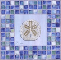 Mosaic Sanddollar Fine Art Print