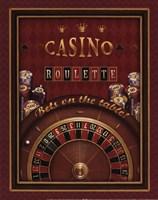 Roulette - mini Framed Print