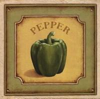 "Pepper by Daphne Brissonnet - 6"" x 6"""