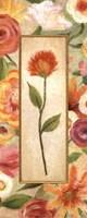 "Sweet Romance Panel I by Daphne Brissonnet - 8"" x 20"""