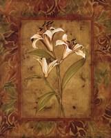 Garden Lilies II Fine Art Print