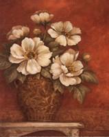 Villa Flora Peonies - mini Fine Art Print