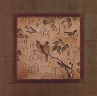"Outdoor Aviary II - mini - CS by Pamela Gladding - 12"" x 12"" - $9.99"