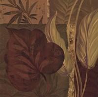 "Tropical Foliage II by Pamela Gladding - 20"" x 20"""