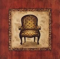 Parlor Chair I - mini Fine Art Print