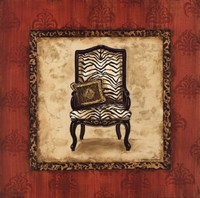 """Parlor Chair II - mini by Gregory Gorham - 12"""" x 12"""""""