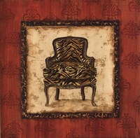 """Parlor Chair III - mini by Gregory Gorham - 12"""" x 12"""""""