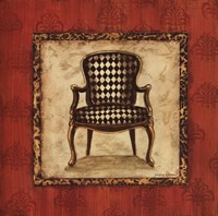 """Parlor Chair IV - mini by Gregory Gorham - 12"""" x 12"""""""