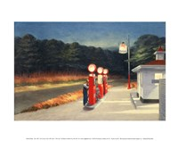 Gas, 1940 Fine Art Print