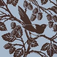 """Bird Song III by Gregory Gorham - 12"""" x 12"""""""
