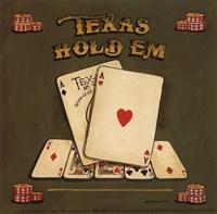 Texas Hold Em - special Framed Print