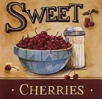 "Sweet Cherries - Mini by Gregory Gorham - 8"" x 8"""