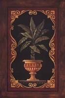 Golden Palm Framed Print