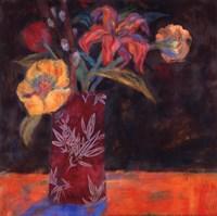 """Blue Shadow by Carolyn Holman - 12"""" x 12"""""""