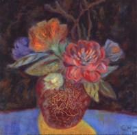"""Gold Shadow - special by Carolyn Holman - 8"""" x 8"""""""
