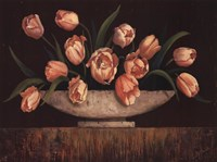 Elegant Tulips - mini Fine Art Print