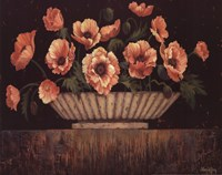 Elegant Poppies - mini Fine Art Print