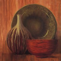 "Ceramic Study I - mini by Jillian Jeffrey - 16"" x 16"""