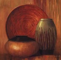 "Ceramic Study II - mini by Jillian Jeffrey - 16"" x 16"""