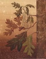Oak Leaves - Mini Fine Art Print