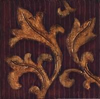 Gold Acanthus II Fine Art Print