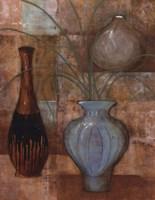 Persian Pot II Framed Print